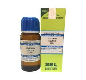 SBL Benzoinum Dilution 12 CH