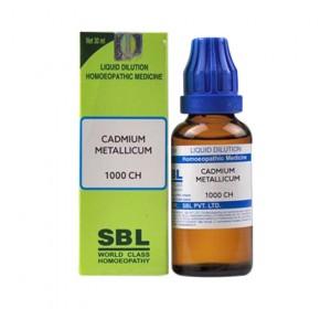 SBL Cadmium Metallicum Dilution 1000 CH