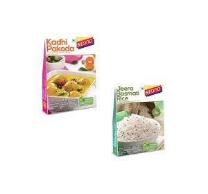 Bikano Kadi Pakoda and Jeera rice