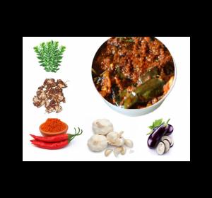 Konaseema Special Vankaya Pickle (Brinjal)