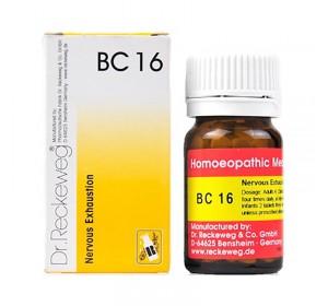 Dr. Reckeweg Bio-Combination 16 (BC 16) Tablet