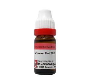 Dr. Reckeweg Zincum Met Dilution 200 CH