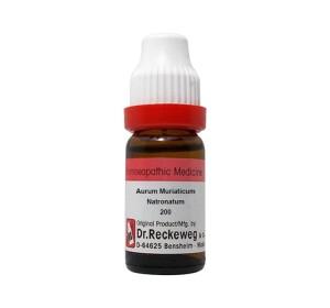 Dr. Reckeweg Aurum Muriaticum Natronatum Dilution 200 CH